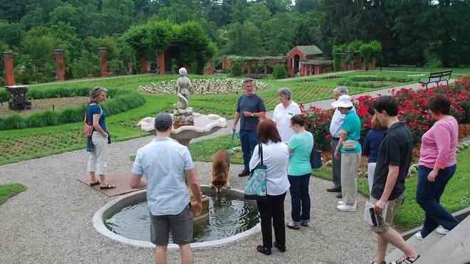 Historic landscape and garden tours at the Vanderbilt Mansion Estate.