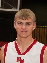 Lucas Wingert, Fannett-Metal boys basketball