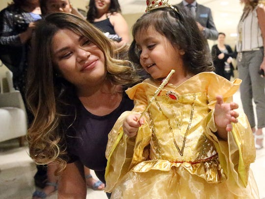 Fernanda Rivera and her mother, Ruby Herrera will visit