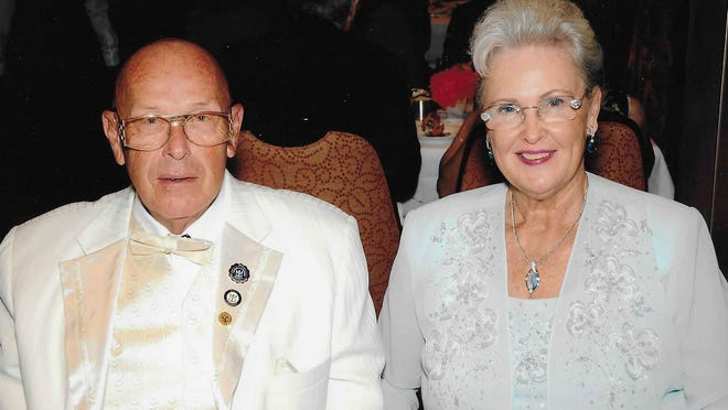 "Edward ""Perley"" and Sharlene O'Rourke  will celebrate their 65th wedding anniversary on Oct. 15, 2020."