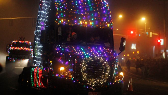 The Festival of Lights Holiday Parade takes place 7 p.m. Saturday in Keizer.