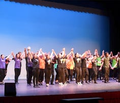 Encore finale featuring 15 York County high schools during Encore