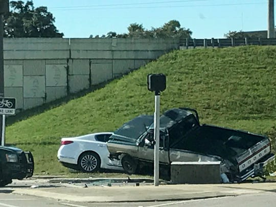 The Florida Highway Patrol is responding to a crash