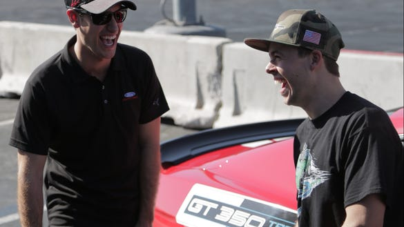 Joey Logano talks new Discovery show, fatherhood and how to deal with bad wrecks