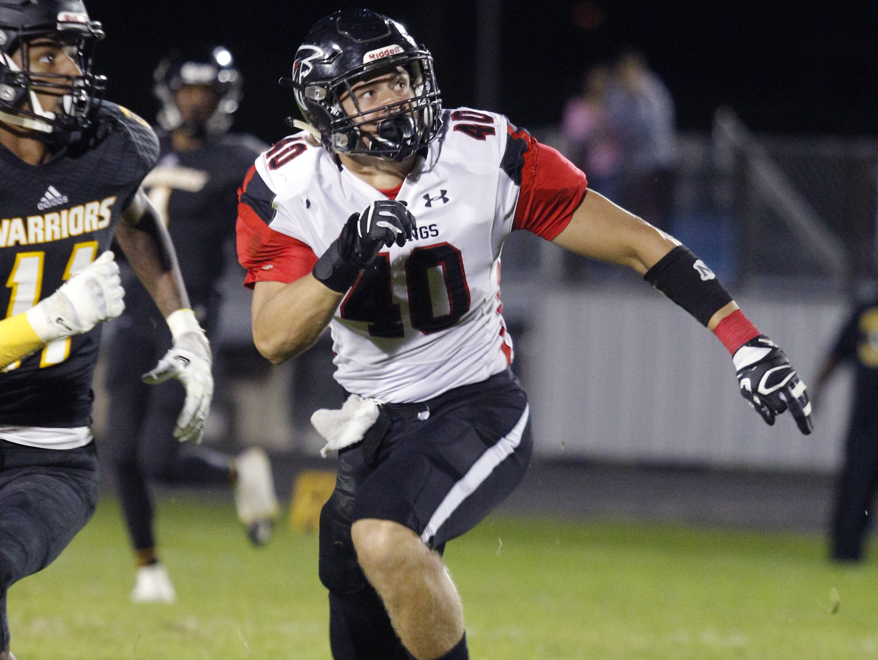 St. Johns' Tanner Motz remains committed to Western Michigan despite the recent departure of coach P.J. Fleck to Minnesota.
