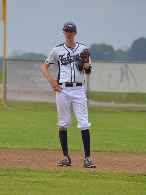 ESA pitcher Mason Shuffler notched the wins in both of the Falcons' two playoff wins.