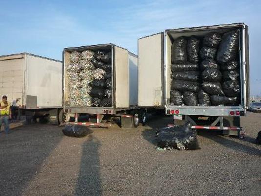 Smuggled Cans & Bottles