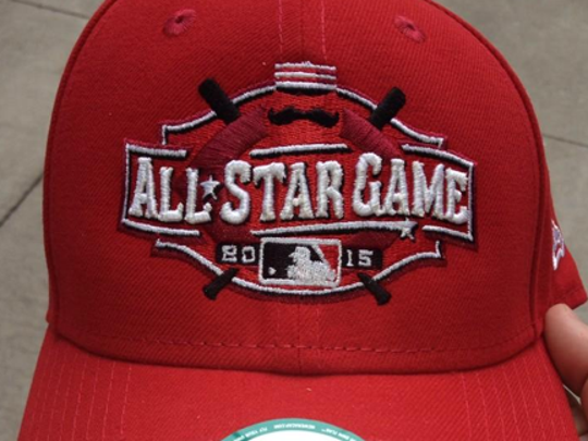 The 2015 Reds All-Star Game hat is now on sale.