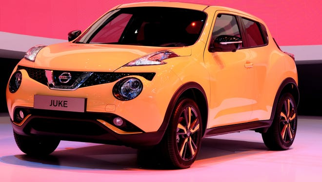 Bold design has always set the Juke apart , Nissan says of its redesign
