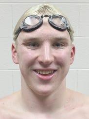 Northville junior Travis Nitkiewicz broke his own pool