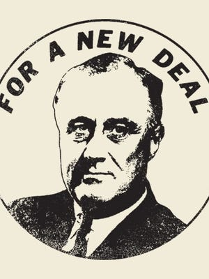 Franklin D. Roosevelt's New Deal.