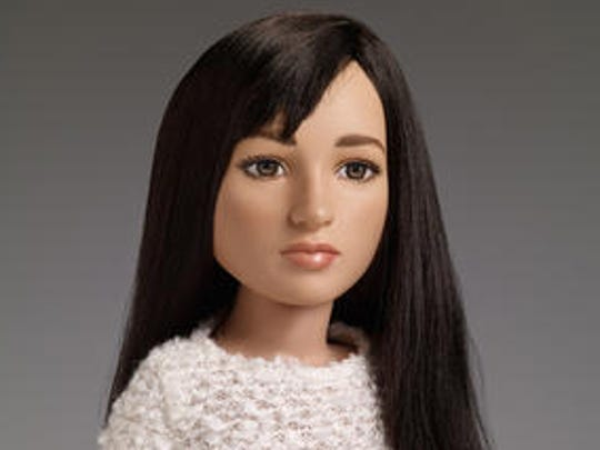 """This undated image provided by Tonner Doll Company shows a doll based on Jazz Jennings, the teenage transgender subject of the TLC documentary series """"I am Jazz."""" The New York doll maker says it will be selling what it believes is the first transgender doll on the market. The doll will make its debut at the New York Toy Fair and be available on the Tonner Doll Co.'s web site and in specialty stores in July 2017."""