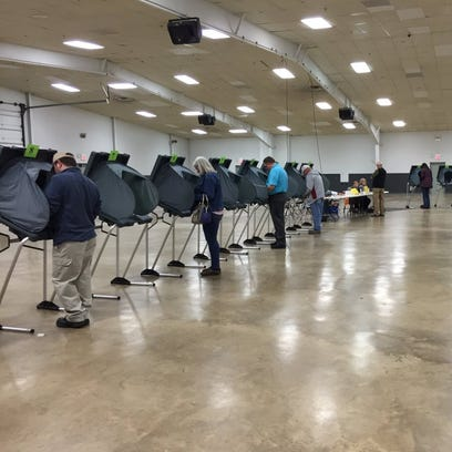 Wayne County residents cast their ballots Tuesday at