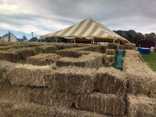 Norz Hill Farm in Hillsborough offers a corn maze as