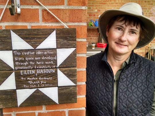 Master gardener Eileen Blackburn has been a volunteer