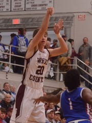 White County's Pierce Whited, who is averaging a team-leading