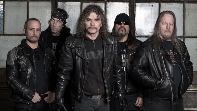The thrash metal band Overkill will return to Central Jersey to play March 11 at Starland Ballroom in Sayreville. The band got its start on the Old Bridge-originated label Megaforce Records.