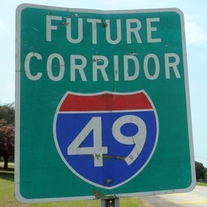 Plans are under way to build a six-lane interstate