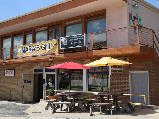 Mara's Grill, a tiny Mexican and Guatemalan restaurant.