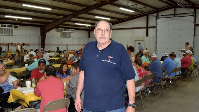 Gary Karschner is the pastor at the United Methodist Church in Miles, Texas.