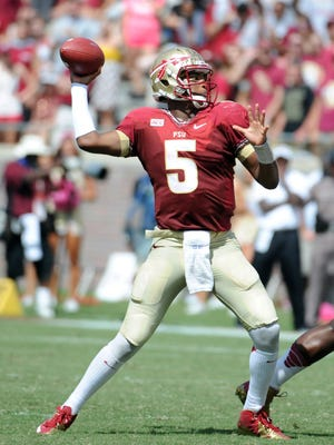 Quarterback Jameis Winston looks to guide his Florida State team past N.C. State on Saturday.