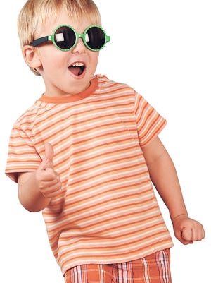 How important are sunglasses for kids? Very, according to one local doctor.