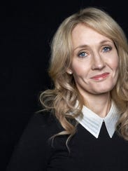 """Harry Potter"" author J.K. Rowling"