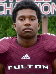 Zaevion Dobson, a 15-year-old Fulton High School football