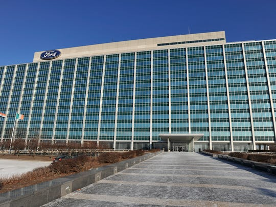 Ford Motor Company's World Headquarters in Dearborn, better known as the Glass House.