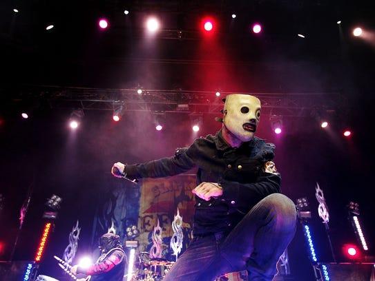 Slipknot will perform at 7:30 p.m. Sept. 28 at El Paso