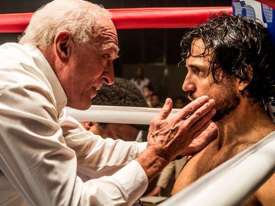 """Robert De Niro and Edgar Ramirez star in """"Hands of"""