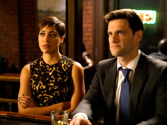 Cush Jumbo is Lucca Quinn and Justin Bartha is Colin