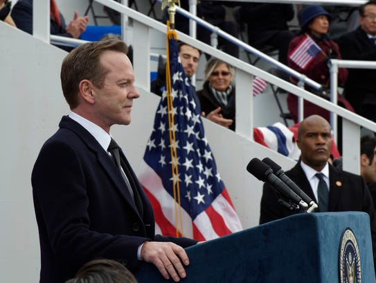 """I would hate to say 'Designated Survivor' is a civics"