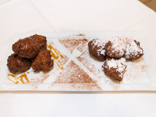 Beignets made by Chef Anthony Miletello and Chef Rachel
