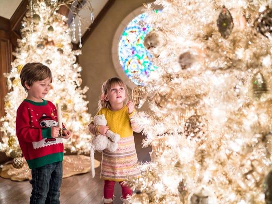 Children explore the wonders of Nutcracker in the Castle
