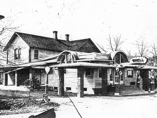 The Big Apple road house once located on today's South