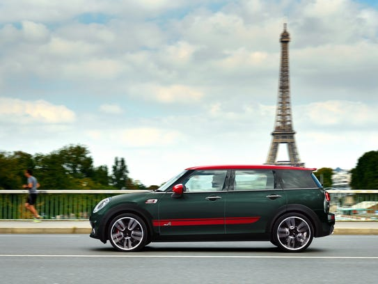 review 2017 mini john cooper works clubman all4 is quaint souped up. Black Bedroom Furniture Sets. Home Design Ideas