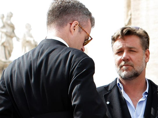 Russell Crowe at the Vatican