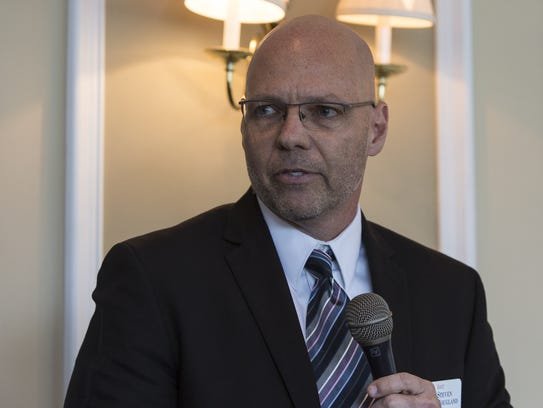 Steve Hougland ran against Curtis Richardson for City Commission last year.