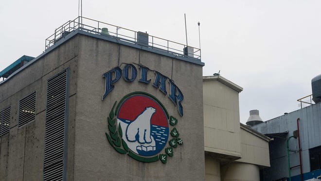 A photo of the plant of Cerveceria Polar, maker of Venezuela's best-known brands of beer, in Caracas, taken on April 21, 2016.