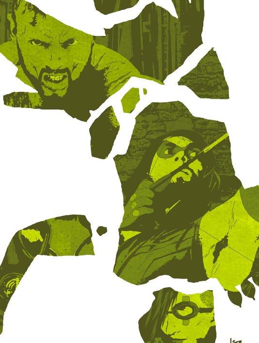 Green Arrow 32 cover