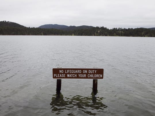 Heavy may rains push pactola reservoir to record level for Pactola lake cabins