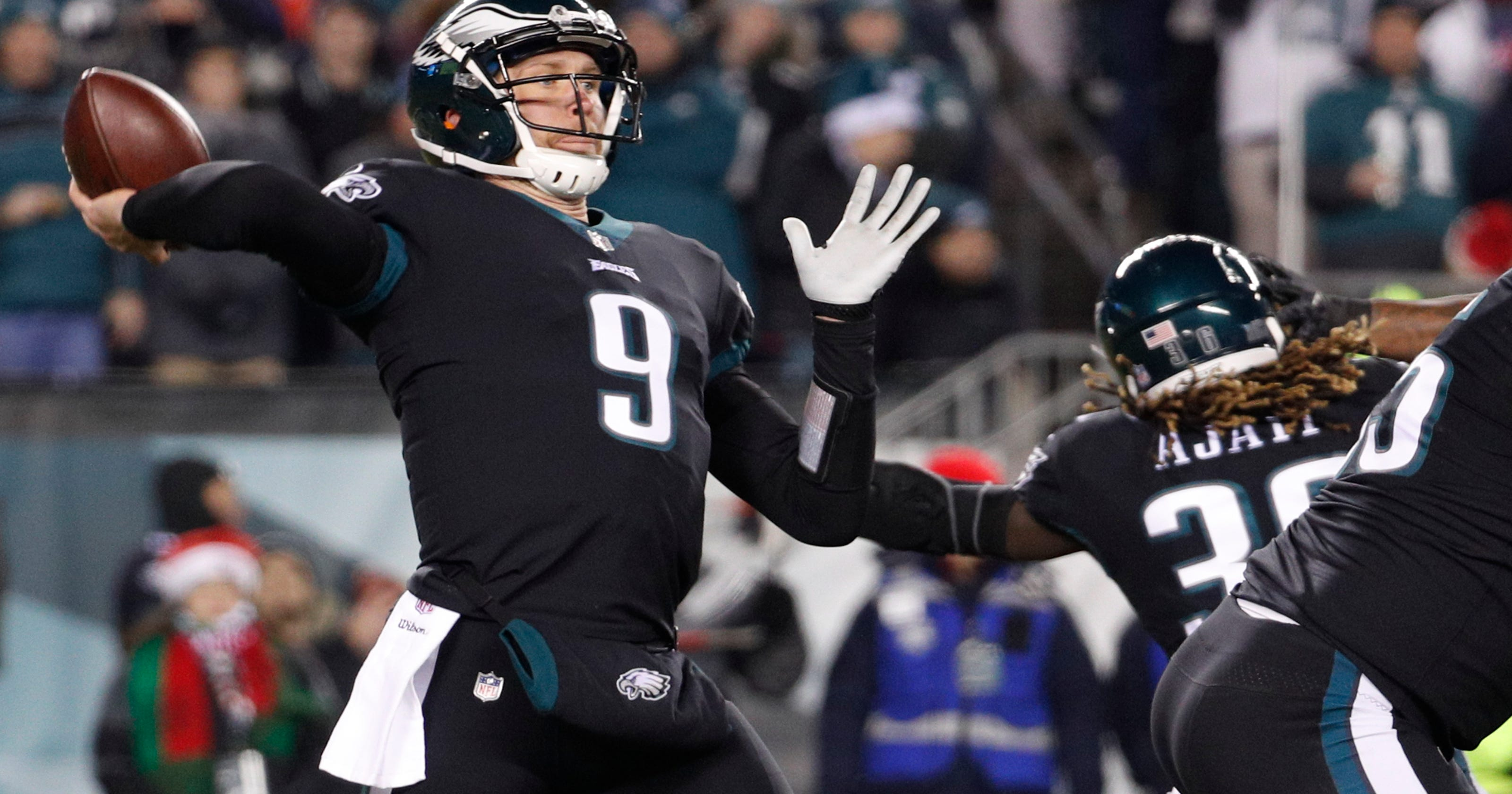 Eagles clinch top seed 0434a3117