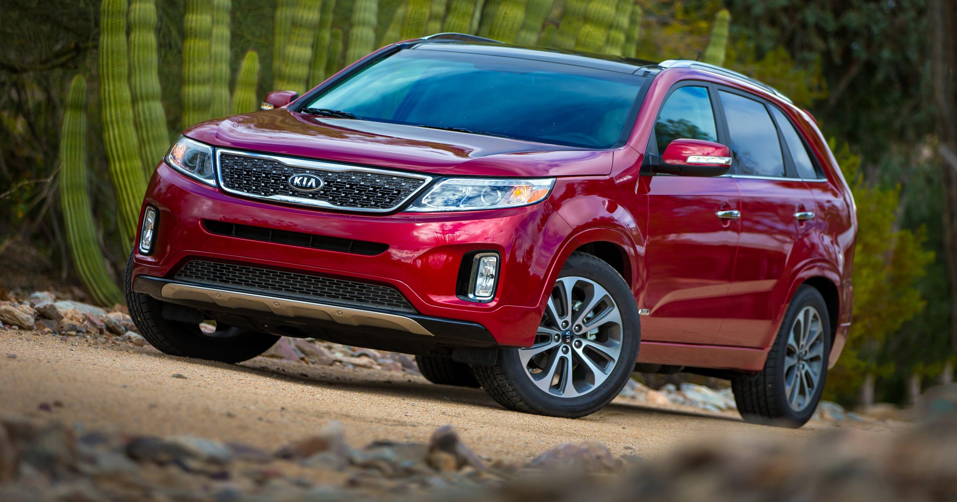 Kia Sorento Hyundai Santa Fe Recalled For Axle Problem Motors Recalls