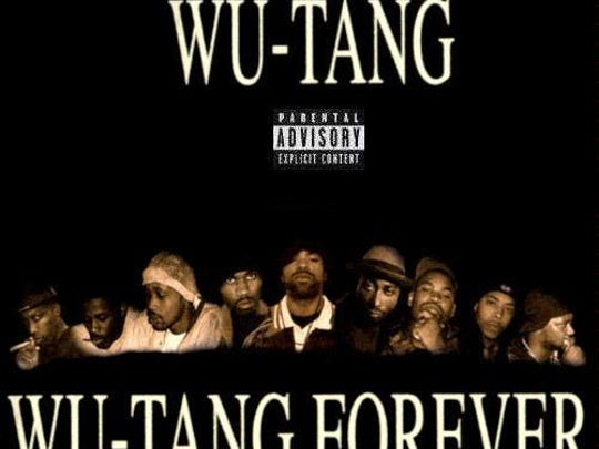 "Cover art for the Wu-Tang Clan album ""Wu-Tang Forever"""