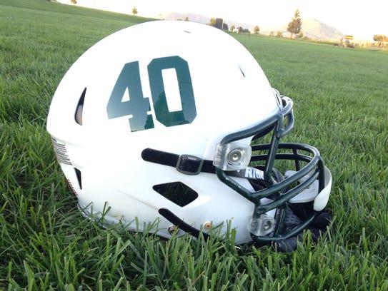 The James Buchanan football team will wear the No.