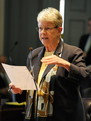 "State Sen. Karen Peterson, D-Stanton, has introduced legislation to add language to the state constitution regarding discrimination. ""We would make a statement of Delaware's values that we treat everyone equally, no matter who they are,"" she says."