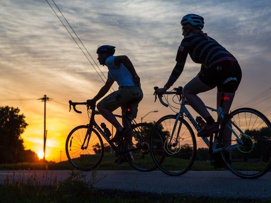 The 2018 Moonlight Bike Ride on Aug. 25 will raise money for The Fairbanks.