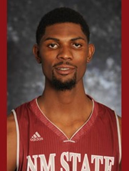 Former New Mexico State forward Anthony January.