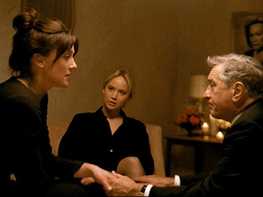 Elisabeth Rohm, Jennifer Lawrence and Robert De Niro
